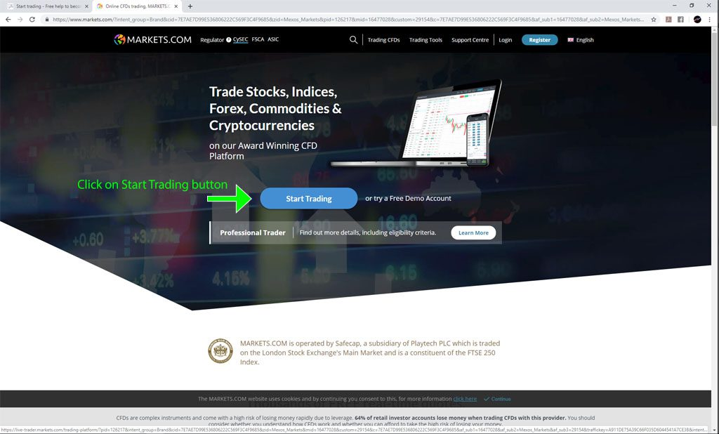 broker sign up step by step, follow these steps for fast broker sign up and trade the real deal!